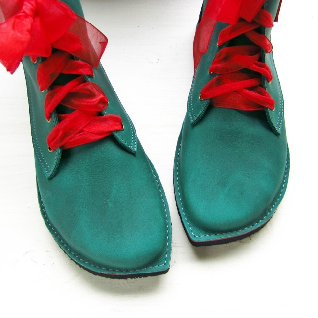 Handmade Leather Shoes with a Touch of Fairy Magic